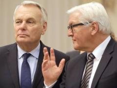 Главы МИД Германии и Франции приедут  в Киев для решения вопроса по Донбассу
