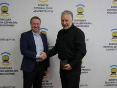 Жебривский: Иностранные спецы не могут проводить разминирование Донбасса из-за отсутствия законодательной базы