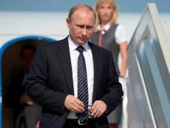 Путин прибыл в оккупированный Крым