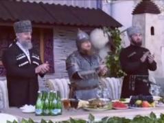 """""""Сказочный воин"""": Кадыров  явился на прием в рыцарском костюме (ВИДЕО)"""