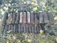 На Донеччині знешкодили 36 одиниць вибухонебезпечних предметів
