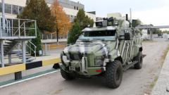 На КрАЗе создали броневик-беспилотник
