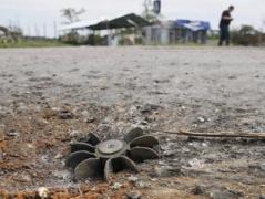 Украина призвала ООН разминировать Донбасс
