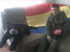В Ровеньках боевик пытался решить свои семейные проблемы с помощью боевой гранаты (ВИДЕО)