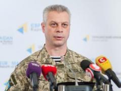 За минувшие сутки в зоне АТО  ранения получили четверо украинских военнослужащих