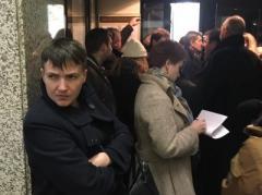Савченко десантировалась в Москве