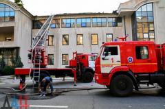 Жители «ДНР» горят в пламени пожаров