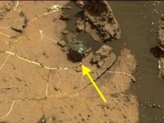 "Curiosity обнаружил на Марсе ""железное яйцо"""