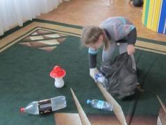 В Мирнограде детвору учили сортировать мусор