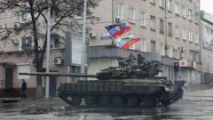 Всю ночь Донецк содрогался от залпов