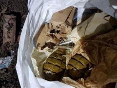В Славянске нашли взрывной пакет