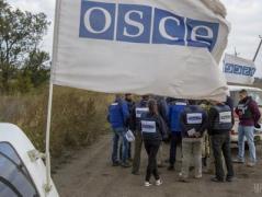 ОБСЕ не может полноценно работать на оккупированном Донбассе из-за минирования местности