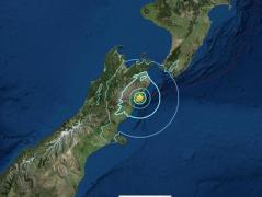 В Новой Зеландии мощное землетрясение и цунами