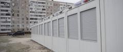 В Запорожье в модульном городке для переселенцев имеется 180 свободных мест