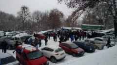 Автомайдан в Киеве требует отставки Авакова