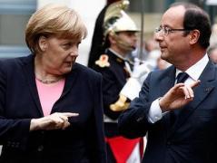 Маркель и Олланд выступают за продление санкций в отношении России