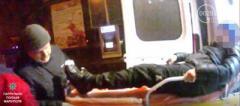 В Мариуполе из маршрутки выпал ребенок. ВИДЕО