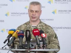 За минувшие сутки в зоне АТО погибших среди украинских военных нет