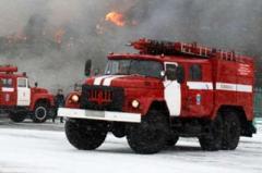 В Мариуполе загорелась казарма морпехов