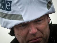 Вчера наблюдатели ОБСЕ зафиксировали свыше 1100 взрывов в районе Светлодарска-Дебальцево