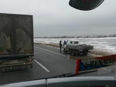 На трассе Одесса - Киев произошло глобальное ДТП - столкнулись десять автомобилей, на трассе образовалась огромная пробка (ФОТО)