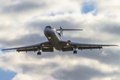 В Интернете появились эксклюзивные кадры яркой вспышки рядом с Ту-154 в Сочи, после этого произошла катастрофа. ВИДЕО