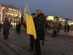 """""""Донбасс"""" и """"Айдар"""" готовят блокаду """"ЛДНР"""" - сегодня на Майдане будут записывать всех желающих поучаствовать в этой акции"""