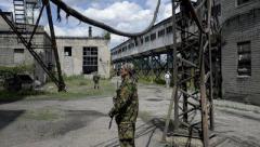 Оккупанты начали разбирать на металлолом шахту в Первомайске — ГУР