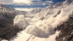 Повышенная лавинная опасность объявлена в Карпатах