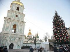 На Софийской площади в Киеве в новогоднем концерте примут участие более тысячи артистов