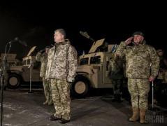 Перед приездом Порошенко и сенаторов США в Широкино боевики пытались штурмовать позиции ВСУ