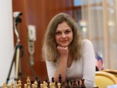 Чемпионка мира по быстрым шахматам Анна Музычук стала еще и чемпионкой мира по блицу