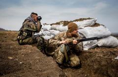 В зоне АТО не прекращаются обстрелы: украинских военных атаковали 39 раз
