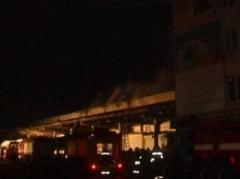 В оккупированном Луганске подожгли продуктовые склады боевиков