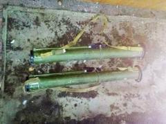 В Волновахе женщина обнаружила в пустующем доме два гранатомета (ФОТО)
