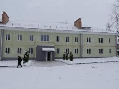 Жебрівський проінспектував, як йде реконструкція будинків для переселенців та воїнів АТО в Бахмуті (ФОТО)