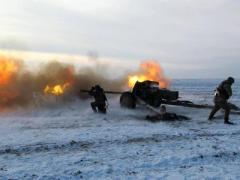 За прошедшие сутки в зоне АТО зарегистрировано 62 обстрела боевиков, огонь велся на всех направлениях фронта