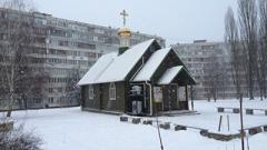 Неизвестные пытались поджечь храм Московского Патриархата в Киеве