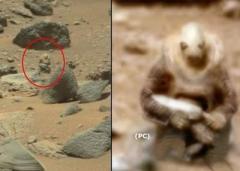 "Уфологи обнаружили на Марсе ""инопланетного воина"""