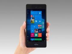 Fujitsu представила мини-планшет на Windows 10 Pro