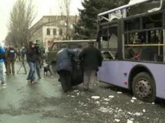 В воскресенье в оккупированном  Донецке  перекроюто движение транспорта