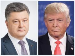 Встреча Порошенко с Трампом может состояться уже в феврале