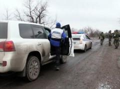 Миссия ОБСЕ не может инспектировать все районы из-за минирования дорог