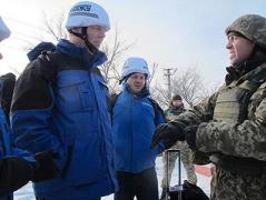 Сегодня ОБСЕ будет наблюдать за разведением сторон в Станице Луганской