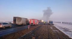Масштабная авария в Польше: пострадали более 70 автомобилей