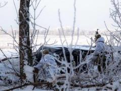 За вчерашние сутки в зоне АТО ранены трое украинских бойцов