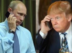 Сегодня вечером состоится телефонный разговор Трампа и Путина