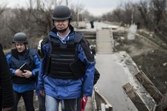 Бои на Донбассе: ОБСЕ приводит жуткие цифры