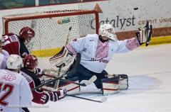 Канадские хоккеисты вышли на лед в вышиванках. ВИДЕО