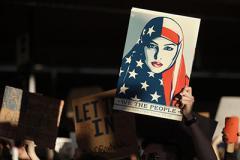 Нет запрету, нет стене: в США протестуют против указа Трампа